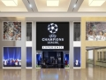 UCL Experience store front at Yas Mall Abu Dhabi